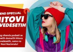 Tempo Naxi radio vikend specijal: Hitovi devedesetih