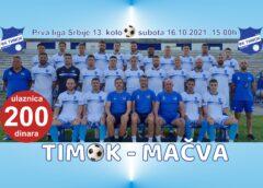 Timok sutra dočekuje Mačvu a omladinci u jutarnjem terminu Jagodinu